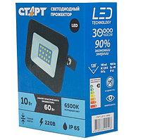 Светодиодный прожектор СТАРТ LED FL 10W65