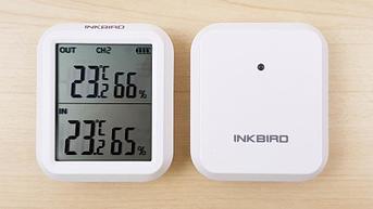 Inkbird ITH-20R - Гигрометр-Термометр с одним внешним беспроводным датчиком