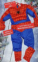 Костюм детский новогодний спайдермена человека паука