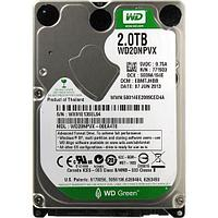 """HDD 2000 Gb WD Green, 2.5"""", 8Mb, Serial ATA III-600, for NB"""