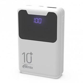 Зарядное устройство Power bank Ritmix RPB-10005 белый
