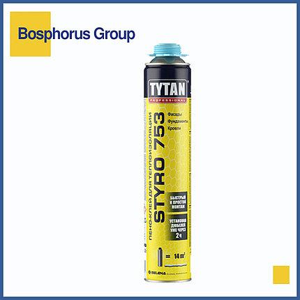 Клей-пена TYTAN STYRO 753 для теплоизоляции, голубой, фото 2