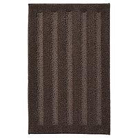 Коврик для ванной ЭМТЕН темно-коричневый 50x80 см ИКЕА, IKEA