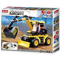 Конструктор лего город трактор