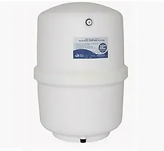 Белый, пластиковый резервуар PRO4000W