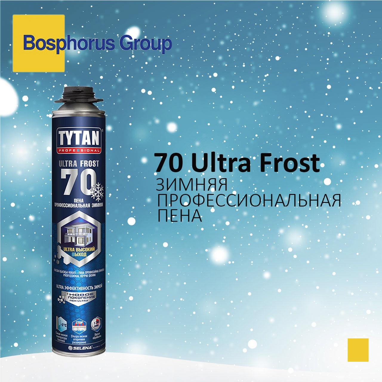 Пена монтажная TYTAN 70 проф зимняя, -20°С