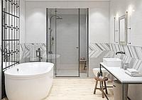Кафель | Плитка для ванной 25х75 Hugge | Хюгге серый