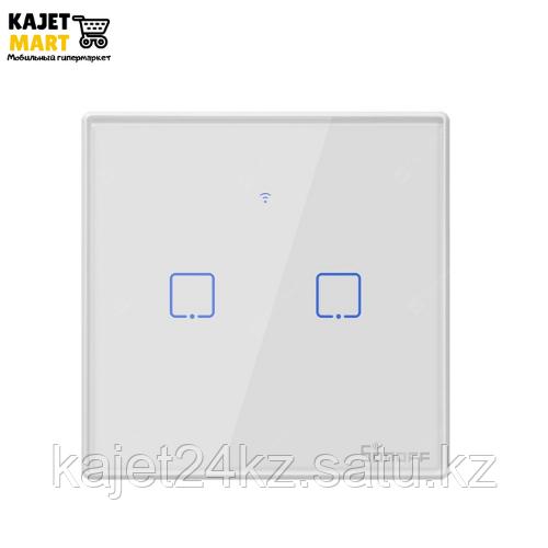 Умный двухканальный выключатель SONOFF T2EU