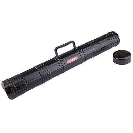 Тубус с ручкой, диаметр 90 мм, длина 680 мм, чёрный