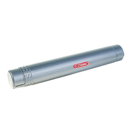 Тубус телескопический, диаметр 60 мм, длина 400-700 мм, серый