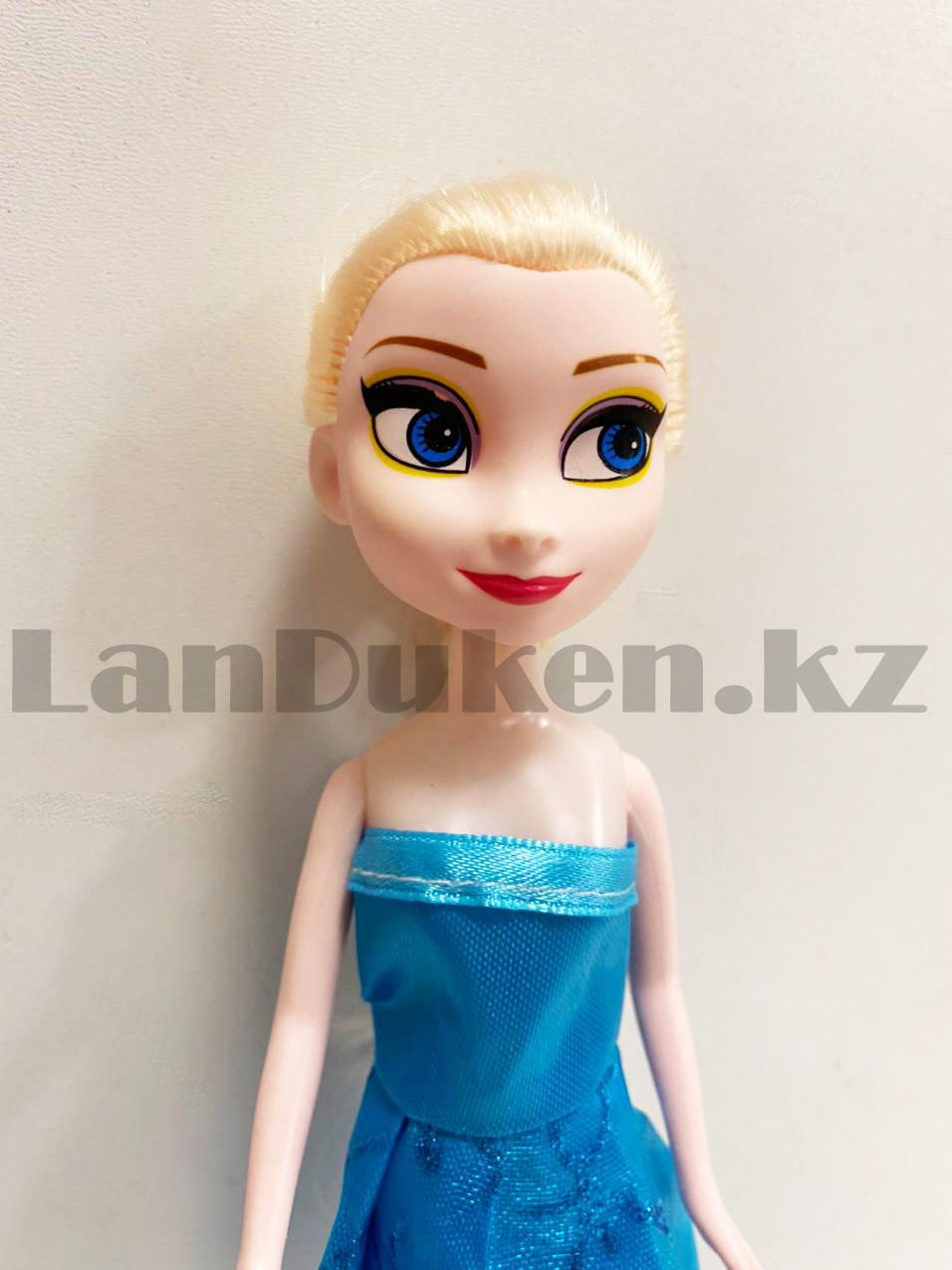Кукла игрушечная детская Эльза Холодное сердце (Frozen) 23 см - фото 3