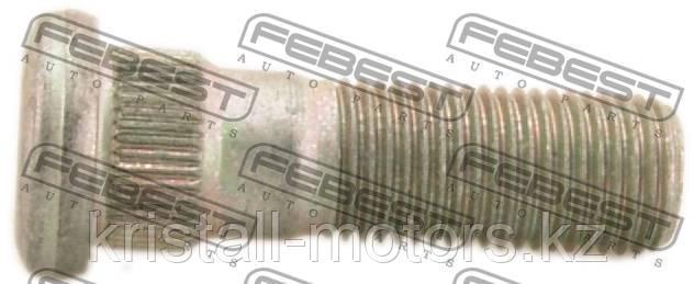 Шпилька колесная FEBEST 0884-001 = SUBARU M12*1,25 mm*46 mm