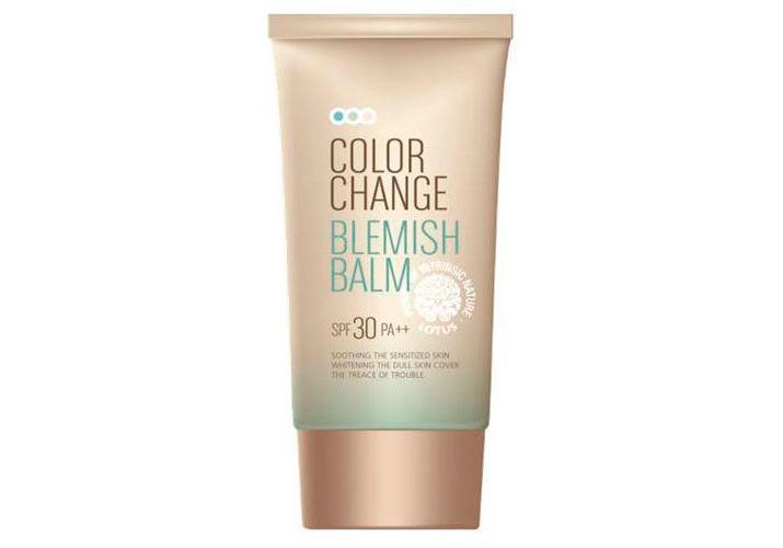 Матирующий СС-крем Welcos Color Change Blemish Balm SPF25 PA++ 50ml.