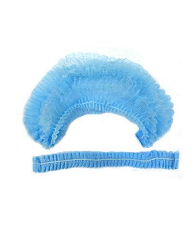 Шапочка-берет (шарлотта) голубая пл.15