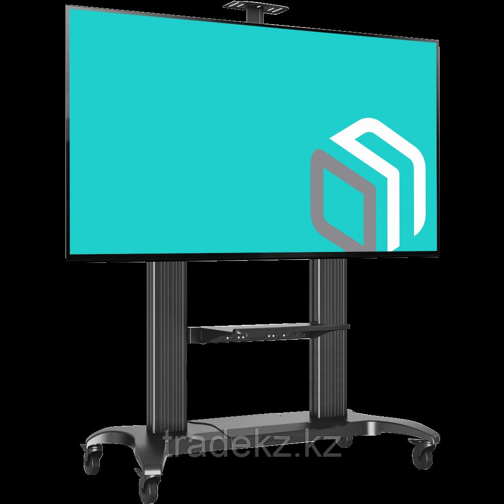 Стойка мобильная для интерактивной панели и телевизоров Onkron TS2811-S Black, до 136 кг.
