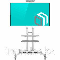 """Стойка мобильная для телевизора, панелей 55"""" - 86"""", ONKRON TS1881, белый, фото 2"""
