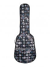 """Чехол мягкий для акустической гитары дредноут 4/4, рисунок """"звёзды"""" MLDG-23"""