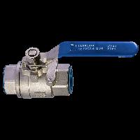 Краны шаровые муфтовые из НЖ №304 стали (2РС) (Ру-16)