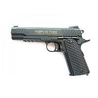 Игрушечный железный пистолет (Colt 1911 Classic K35D). Airsoft Gun K35D