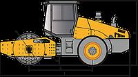 Одновальцовые катки SSR260C-8S3