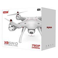 Квадрокоптер Syma X8SW-D,  c видеокамерой и прямой трасляцией