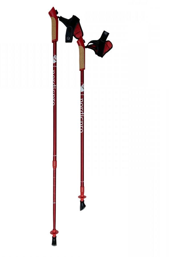 Палки для скандинавской ходьбы Nordic pro RED