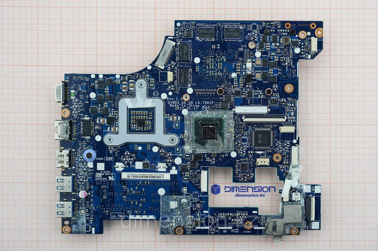 НОВАЯ!!! Материнская плата QIWG5_G6_G9 LA-7981P Rev 1.0 для LENOVO G580 G585 (для матовых корпусов) Новая!!