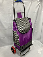Продуктовая сумка-тележка на 2-х колесах.Складная.Высота 98 см, ширина 35 см, глубина 25 см., фото 1