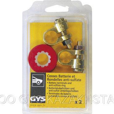 2 кабельных наконечника батареи (блистерная упаковка)