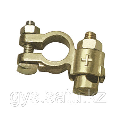 25 Хомутов для аккумулятора с двойным зажимом, VL (+), кабель 10 - 35 мм², фото 2