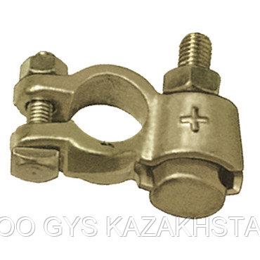 25 Хомутов для аккумулятора с двойным зажимом, PL (+), кабель 13 - 50 мм²