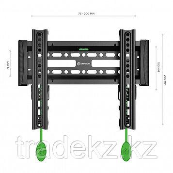 """Кронштейн наклонный для телевизора Onkron SN12, до 36 кг, до 43"""", фото 2"""