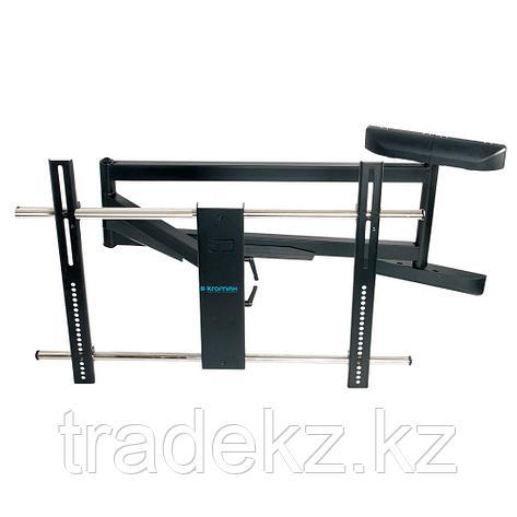 Кронштейн поворотный для телевизора Kromax ATLANTIS-120 black, до 121 кг., фото 2