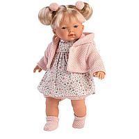 Кукла Llorens Роберта 33 см. блондинка в светло-розовом жакете, фото 1