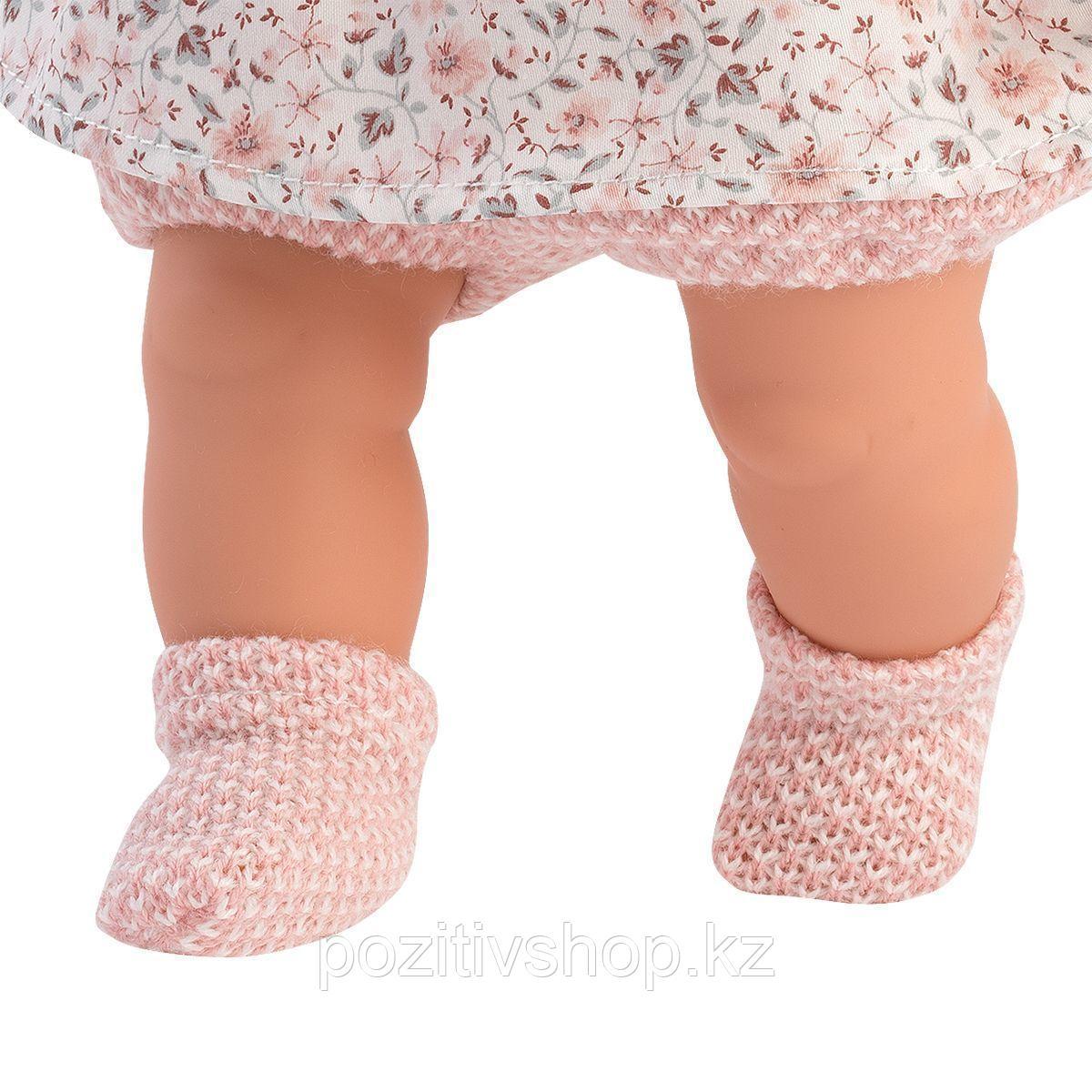 Кукла Llorens Роберта 33 см. блондинка в светло-розовом жакете - фото 3