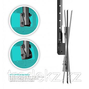 Кронштейн потолочный для телевизора ONKRON N2L черный, 72-300 см, до 68 кг, фото 2