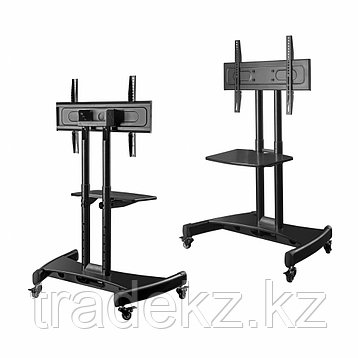 Стойка мобильная для сенсорных панелей ONKRON TS1330 черный, до 60 кг., фото 2