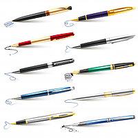Ручки шариковые гелевые капилл...