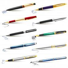 Ручки шариковые гелевые капиллярные