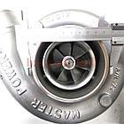 Турбокомпрессор (турбина), с установ. к-том на / для SCANIA, СКАНИЯ, MASTER POWER 801200, фото 2