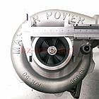 Турбокомпрессор (турбина), с установ. к-том на / для MERCEDES, МЕРСЕДЕС, MASTER POWER 808282, фото 2