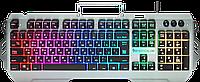 Клавиатура проводная игровая Defender Renegade GK-640DL, ENG/RUS, USB, RGB подсветка, 9 режимов.1.5м