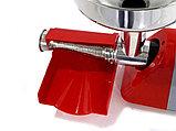 Электрическая соковыжималка New Omra Spremy TC5 850m шнековая для сока из томатов, ягод, фруктов, фото 8
