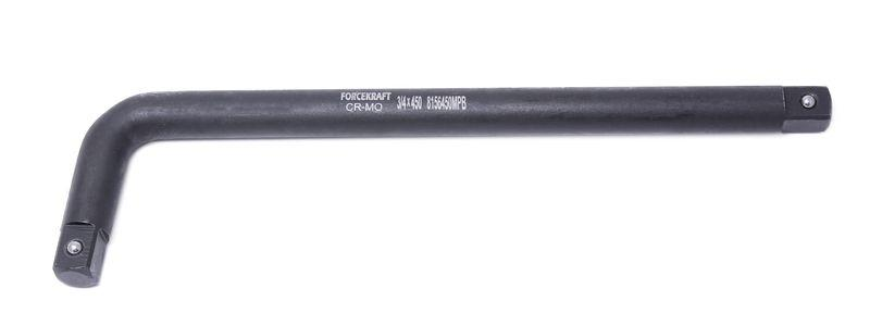 "Forcekraft Вороток Г-образный двухсторонний ударный CR-Mo, 490мм, 3/4"" FORCEKRAFT FK-8156490MPB 16222"