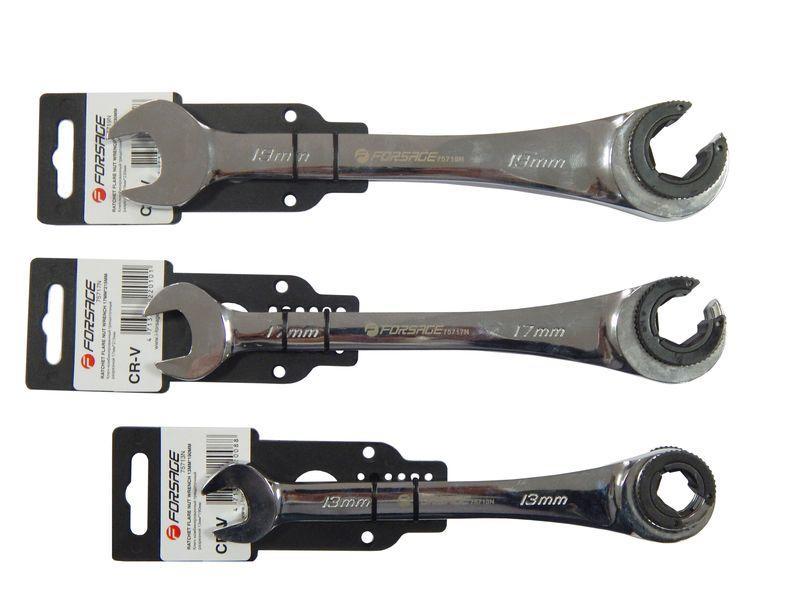 Forsage Ключ комбинированный трещоточный разрезной 14мм Forsage F-75714N 8777