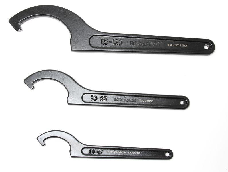 ROCKFORCE Ключ радиусный ударный 45-52мм ROCKFORCE RF-685C52 17540