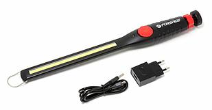 Forsage Лампа светодиодная аккумуляторная на магнитном шарнире с регулятором яркости(6W COB,410