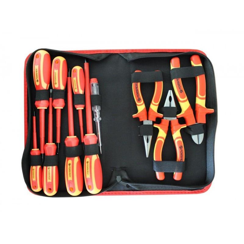 Forsage Набор инструмента диэлектрического,12 предметов в сумке Forsage F-05011 47743