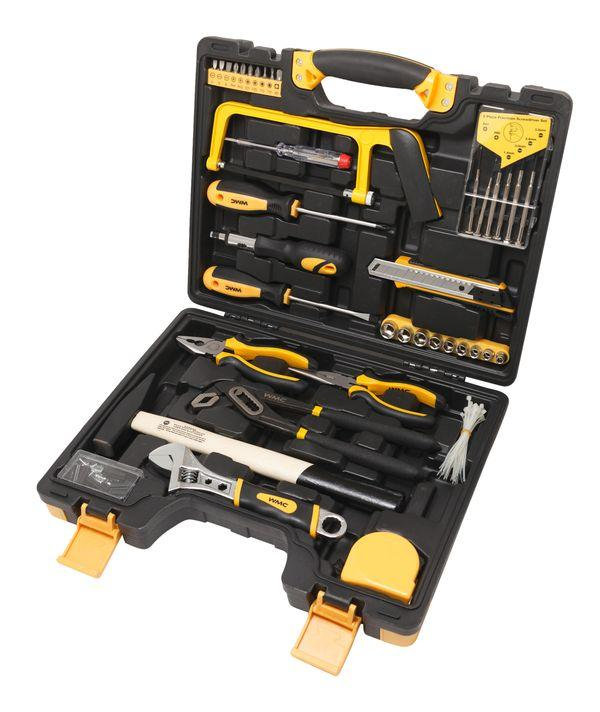 """WMC tools Набор инструментов 102 предмета 1/4""""(6гр.)(5-13мм) WMC TOOLS 20102 47009"""