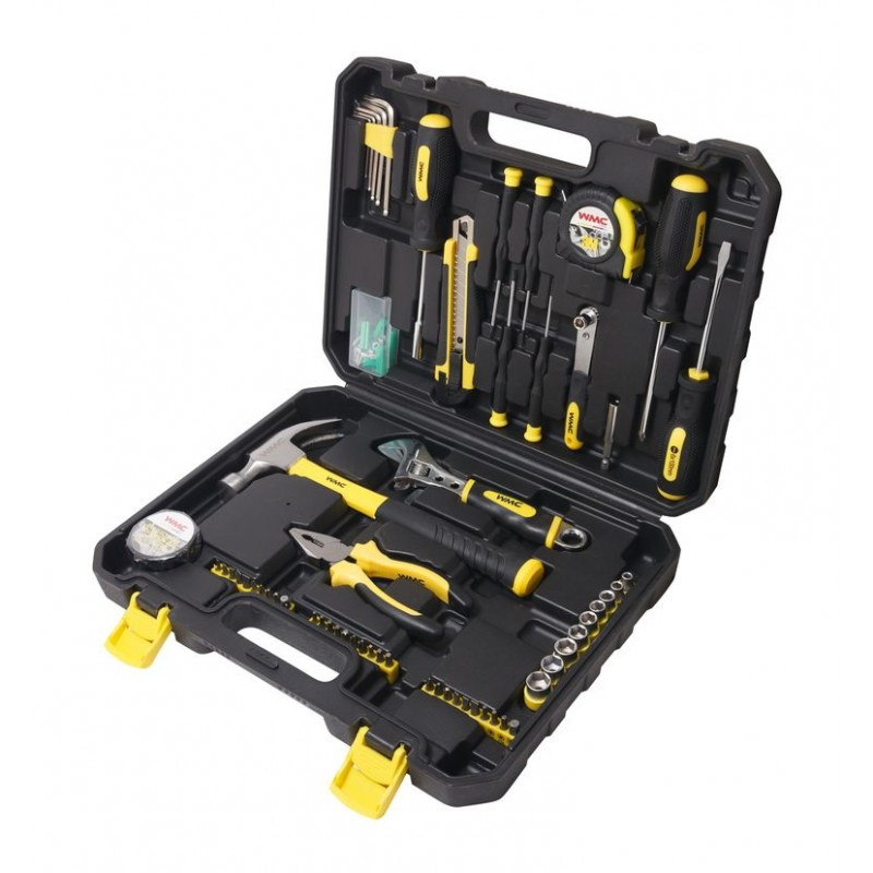 WMC tools Набор инструментов 104пр. 1/4''(6гр)(5-13мм) WMC TOOLS 20104 48126